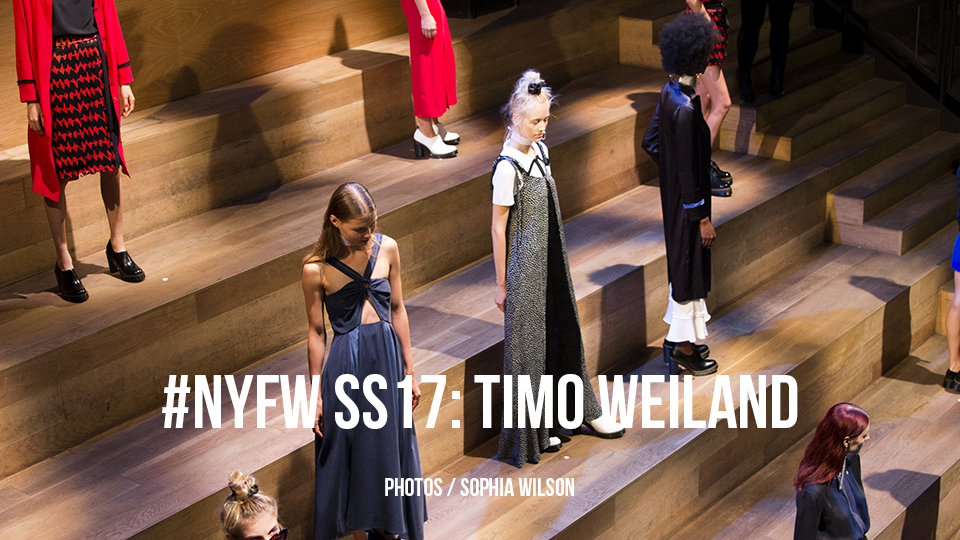 #NYFW SS17: TIMO WEILAND
