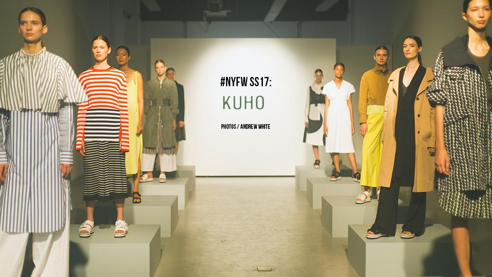 #NYFW SS17: KUHO