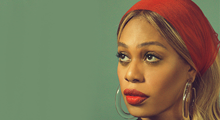 POWER TRIPPIN' WITH LAVERNE COX: LADYGUNN #14 COVER STORY