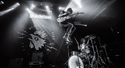 LIVE REVIEW: BLACK PISTOL FIRE @ THE TROUBADOUR